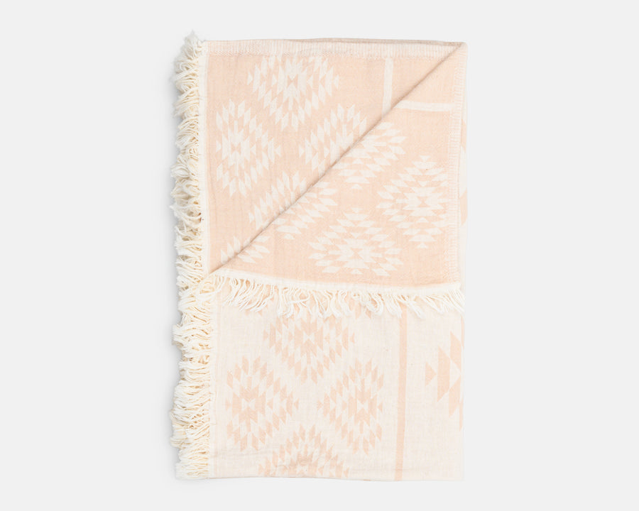 Aztec Beach Blanket - Tan