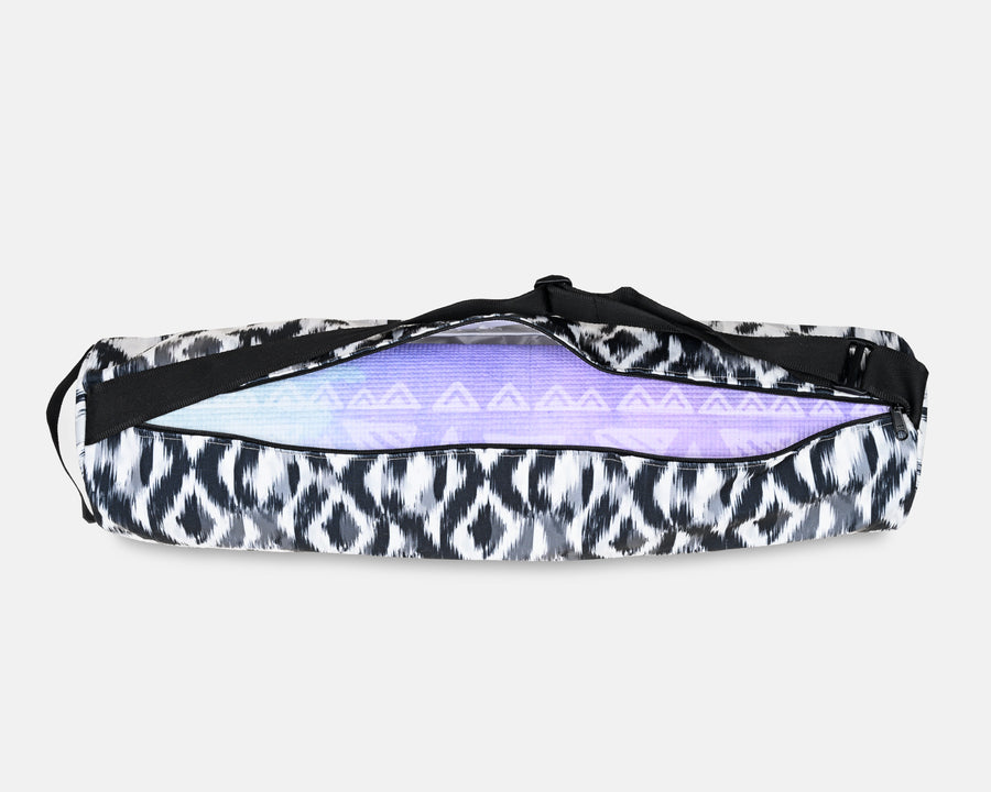 Yoga Mat Bag - Blurred Ikat Print