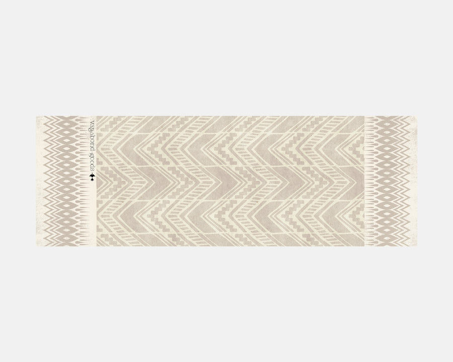 Yoga Towel - Chevron Print