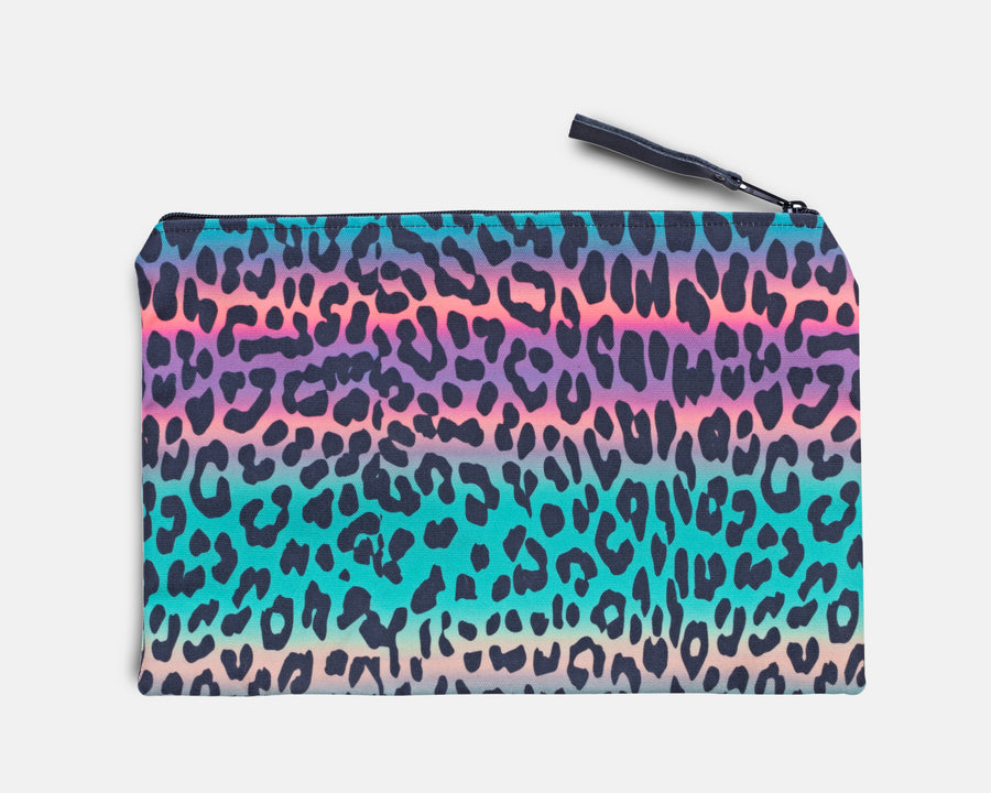 Canvas Workout Pouch - Jungle Cheetah Print