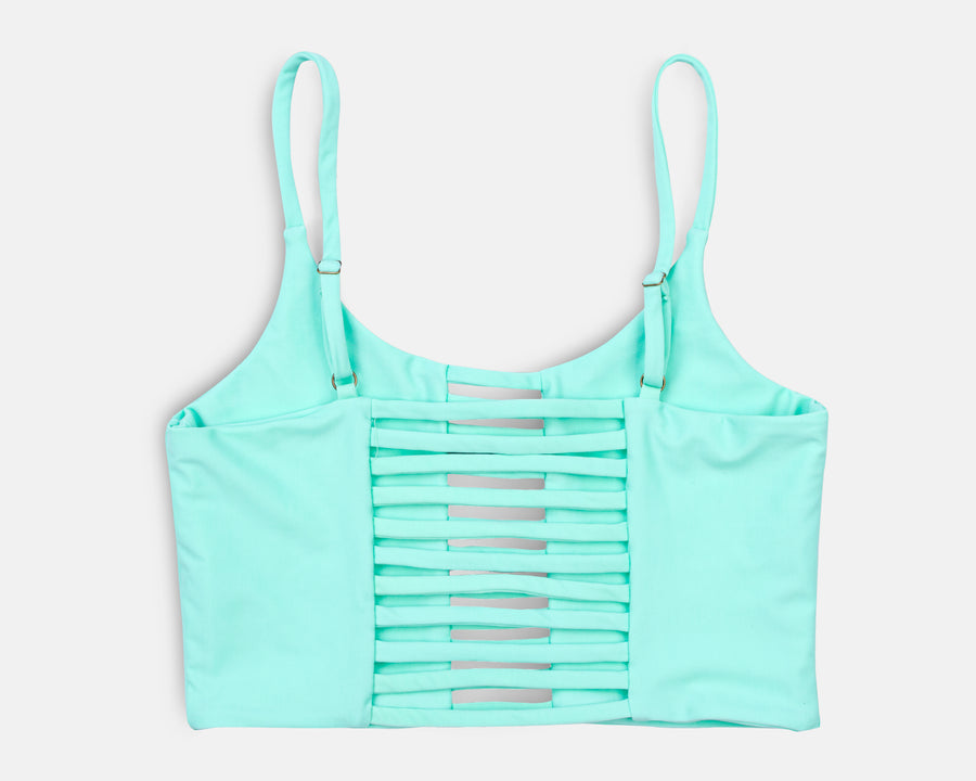 Klara Yoga Top in Mint