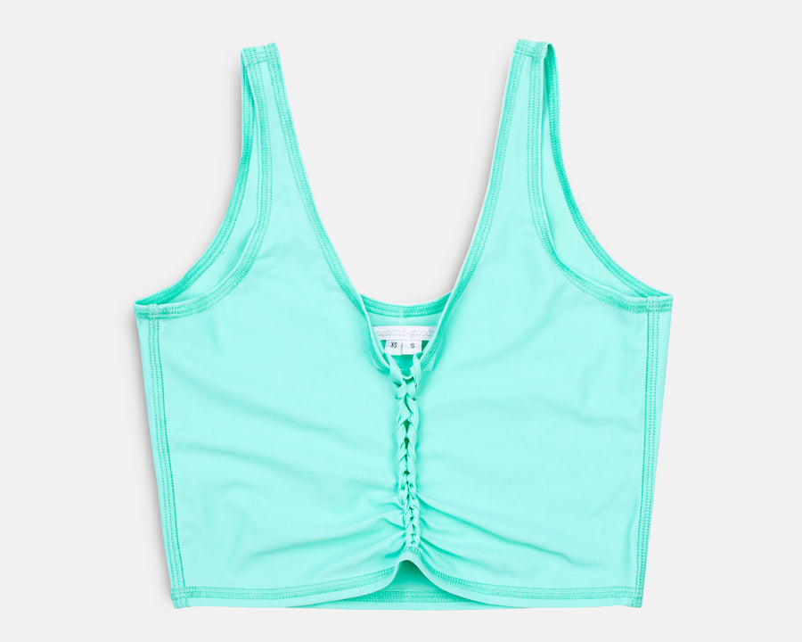Rogue Crop Top in Mint
