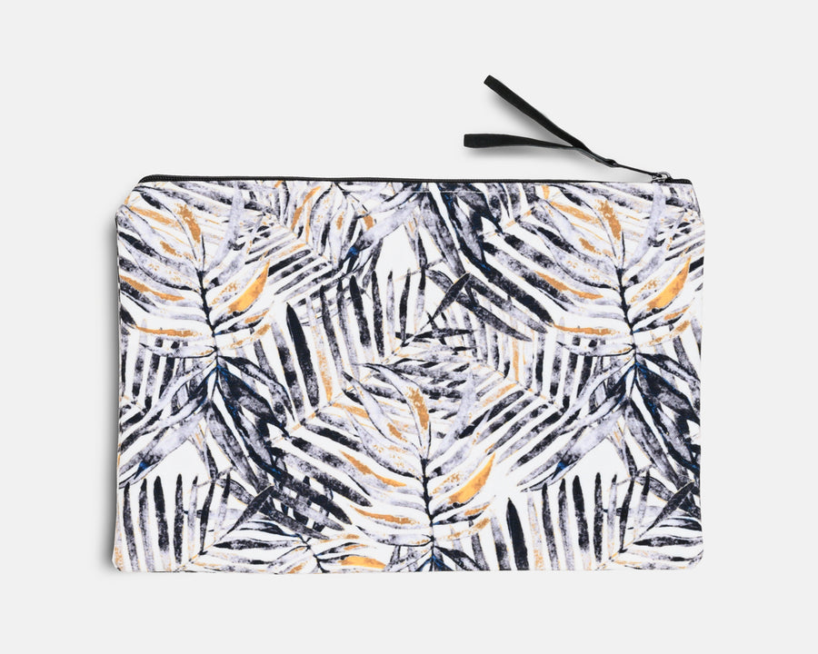 Canvas Workout Pouch - Mono Palm