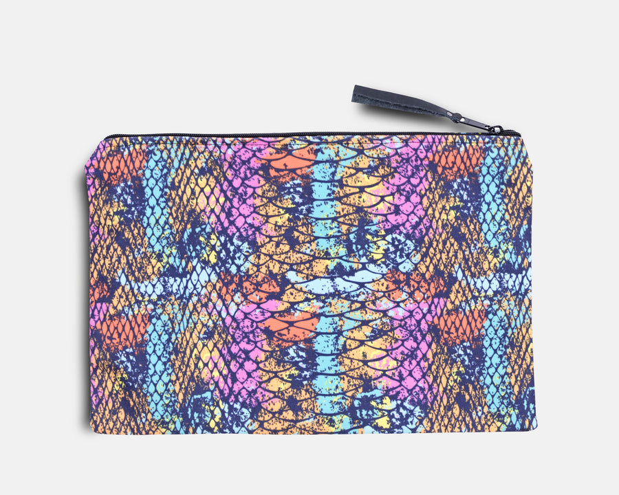 Canvas Workout Pouch - Passion Cobra Print