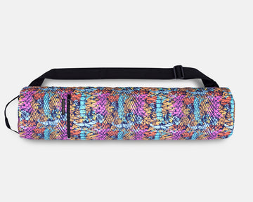 Yoga Mat Bag - Passion Cobra Print