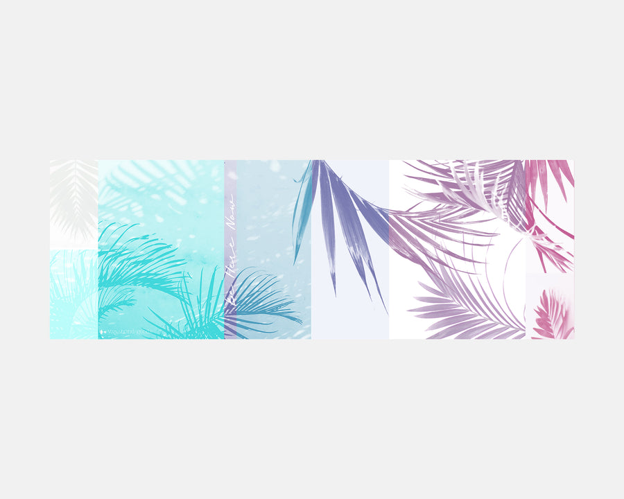 Yoga Towel - Tropical Palm Print