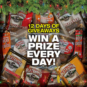 12 Days of Old Trapper Giveaways