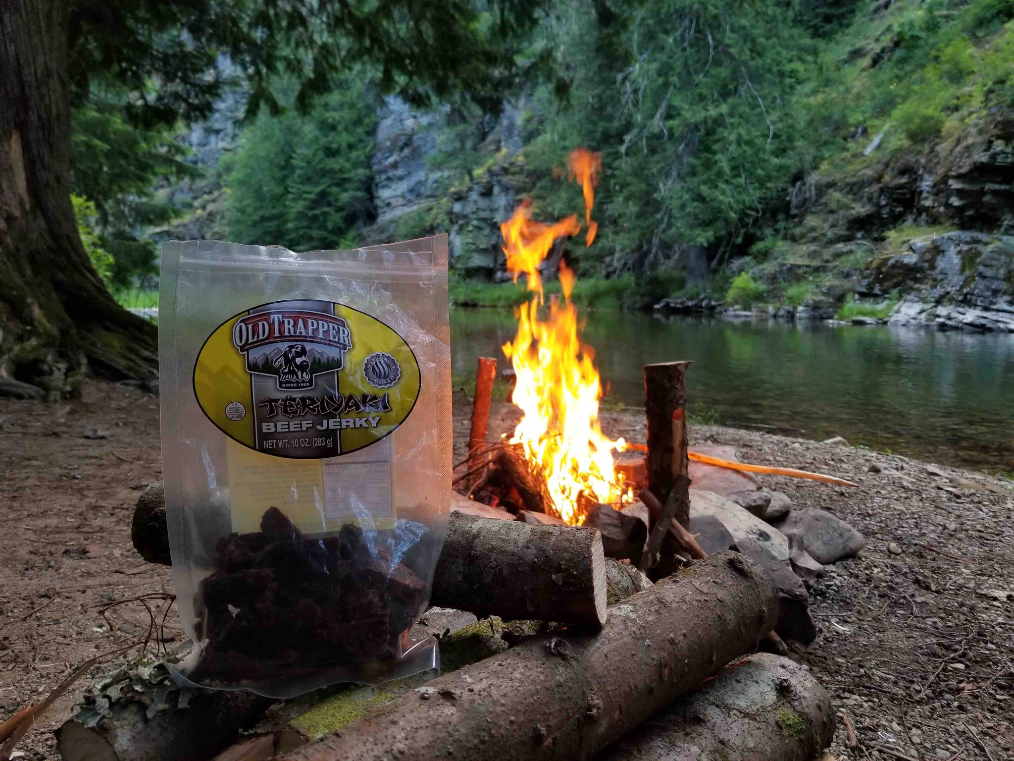 Here's How My Teriyaki Jerky is EXACTLY Like a Summer Camp Fire