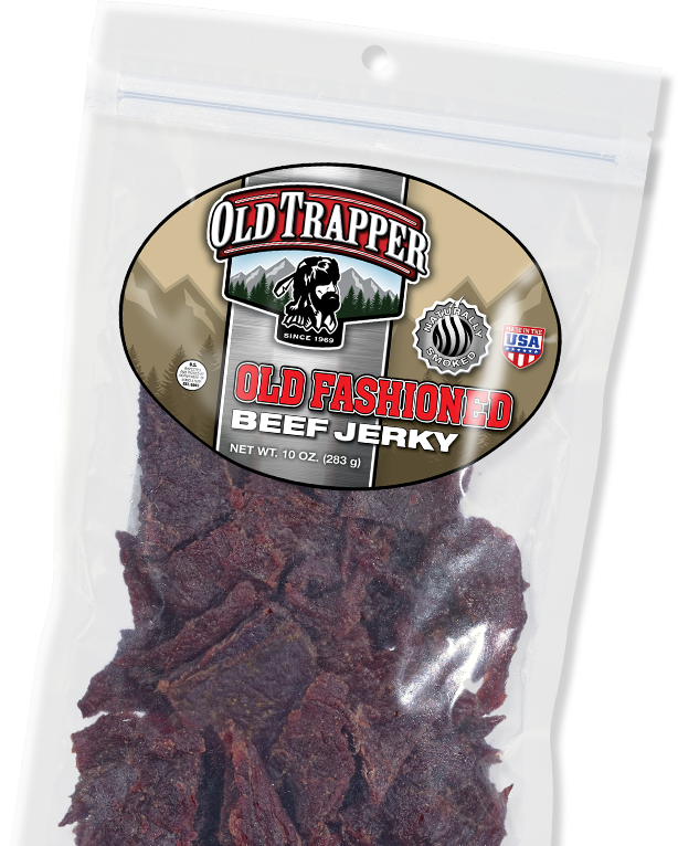 Old Trapper Smoked Snacks, Beef Jerky, Beef Sticks, Made In USA