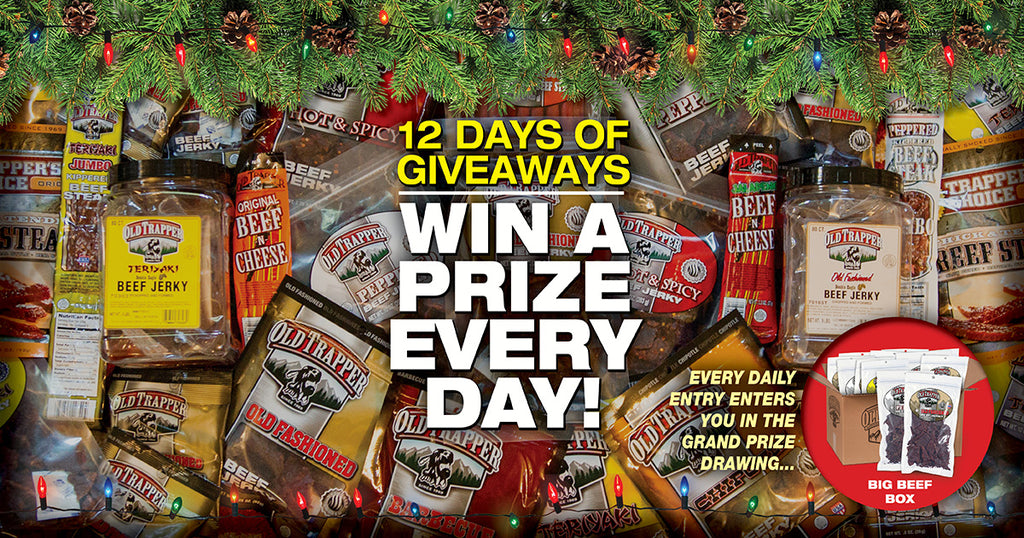 Old Trapper 12 Days of Giveaways