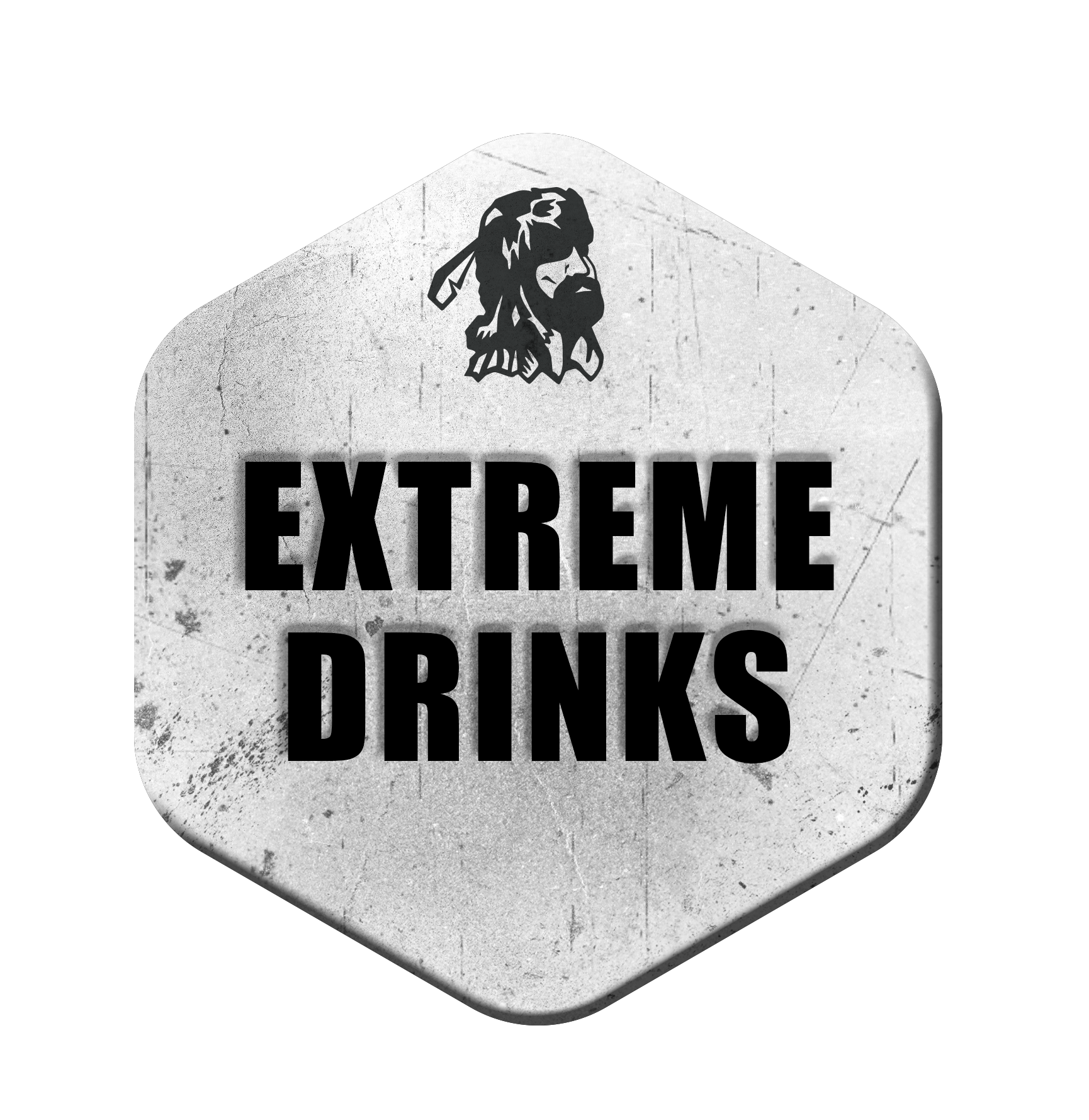 Old Trapper Extreme Drinks Medallion