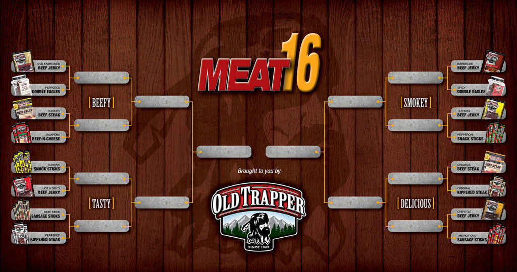 Old Trapper Beef Jerky Meat 16