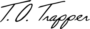 Old Trapper Signature