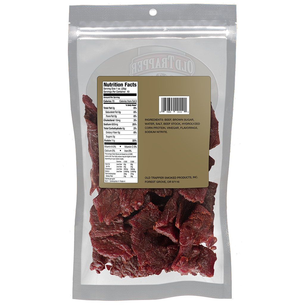 Traditional Style Jerky - Old Fashioned 10 oz bag