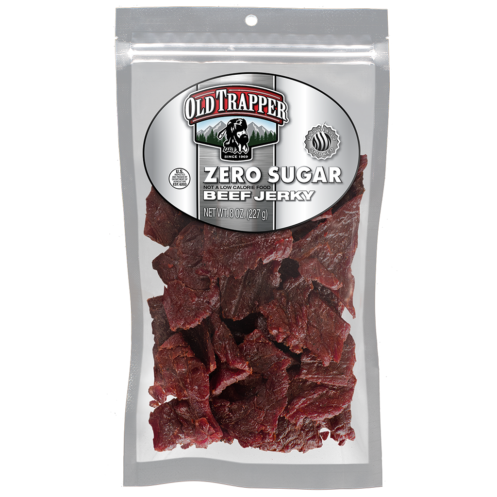 Zero Sugar Beef Jerky - 8 oz bag