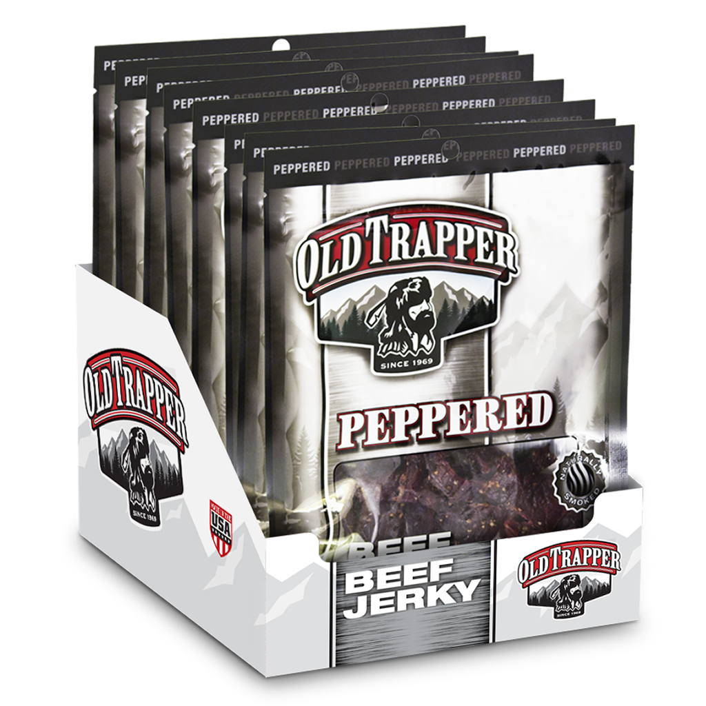 Case of 8 packages Peppered - 3.25oz