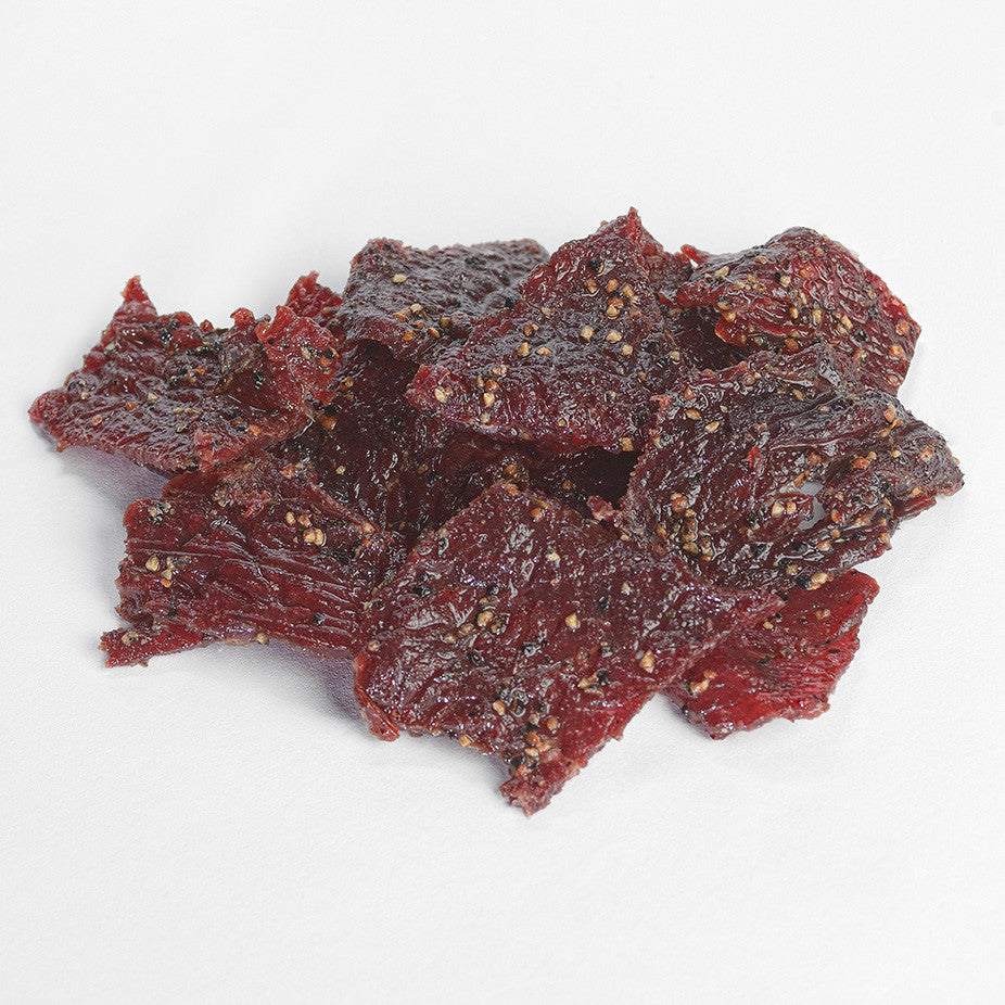 Old Trapper Smoked Snacks Beef Jerky Beef Sticks Made