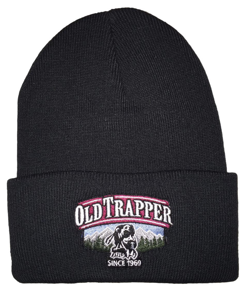 Old Trapper Logo Stocking Cap