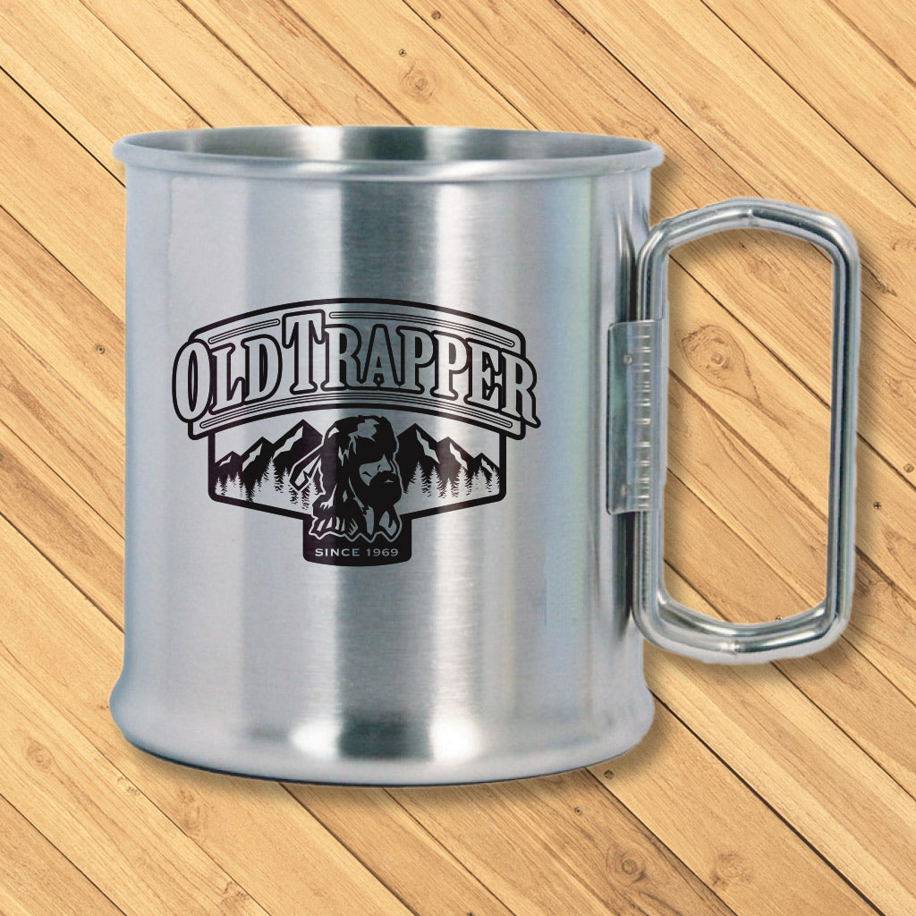 Old Trapper Stainless Steel Camping Cup