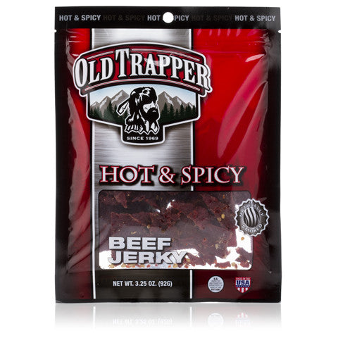 Traditional Style Jerky - Hot & Spicy