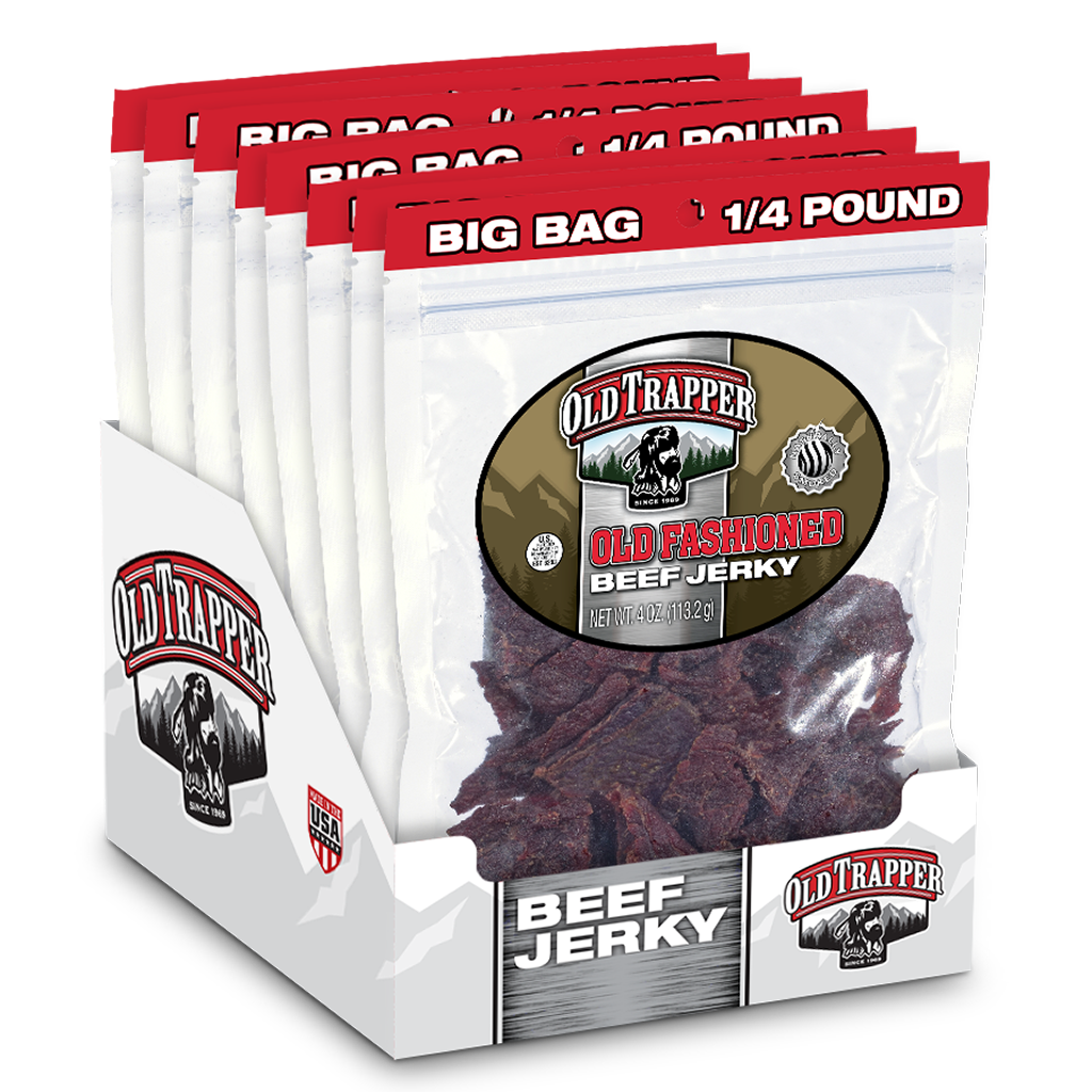 Traditional Style Jerky -Old Fashioned 1/4 lb bag
