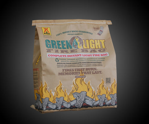Green Light Fire Bag