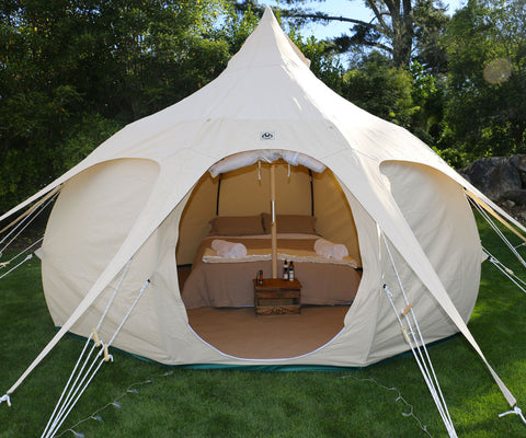 Lotus Belle Luxury Canvas Tent