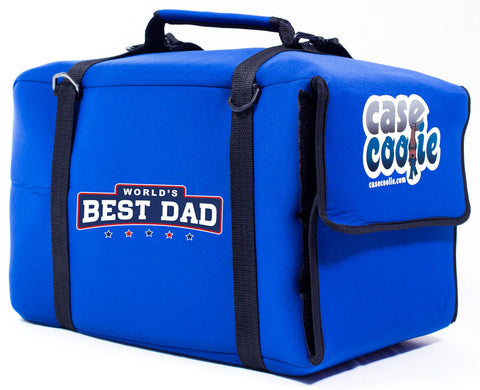 """World's Best Dad"" Custom Case Coolie"