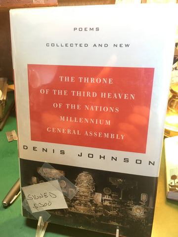 Throne of Third Heaven of the Nations Millennium General Assembly by Denis Johnson (Signed, First edition)