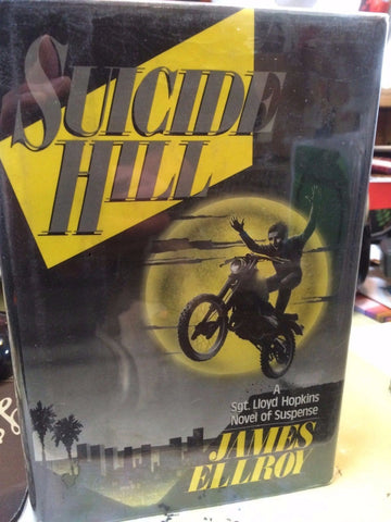 Suicide Hill by James Ellroy (1986, 1st, Signed to Eddie Bunker)