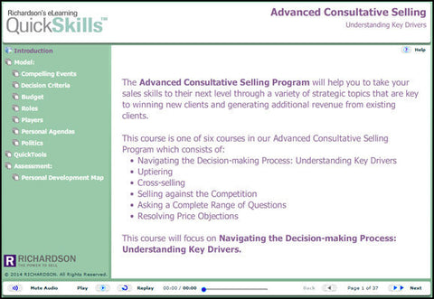 Advanced Consultative Selling