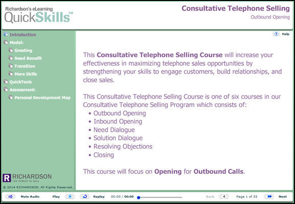Consultative Telephone Selling