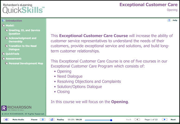 Exceptional Customer Care