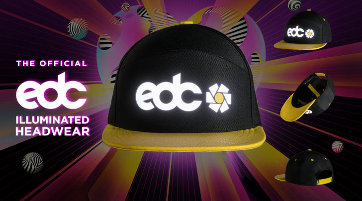 The Official Illuminated Headwear of EDC