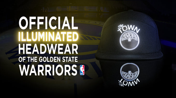 The Official Illuminated Headwear of the Golden State Warriors