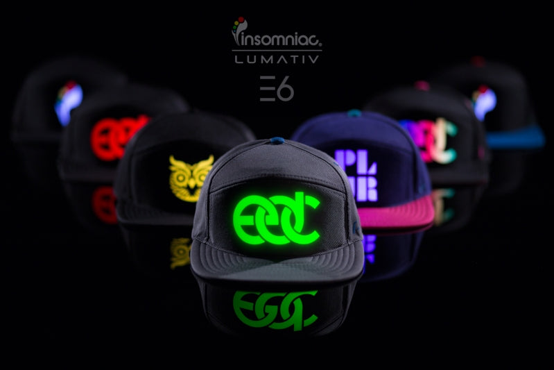 LUMATIV – UNVEILS NEW E6 SNAPBACK HAT AT ELECTRIC DAISY CARNIVAL (EDC) 2016 IN LAS VEGAS