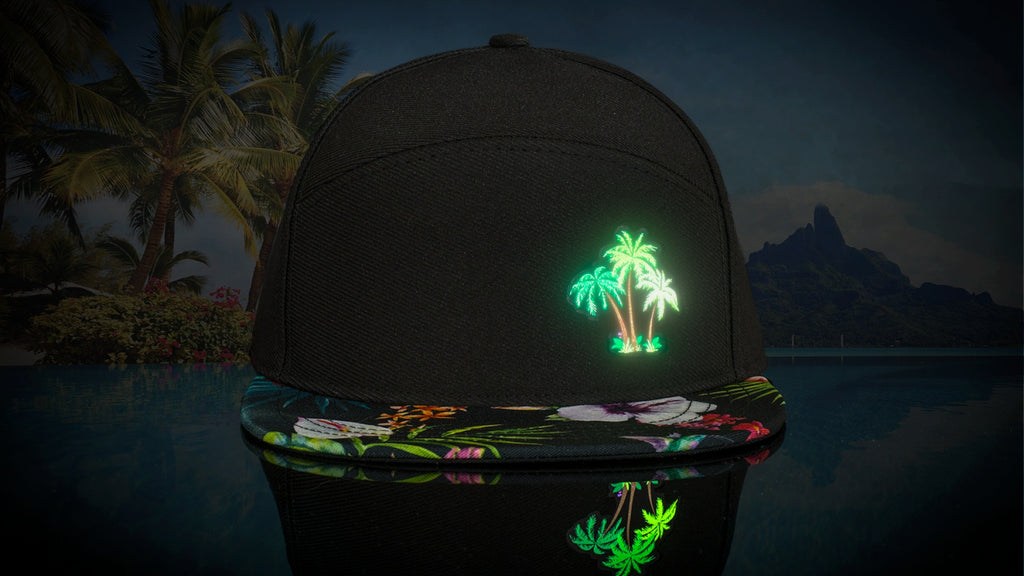 LUMATIV Tropical Night Illuminated Snapback