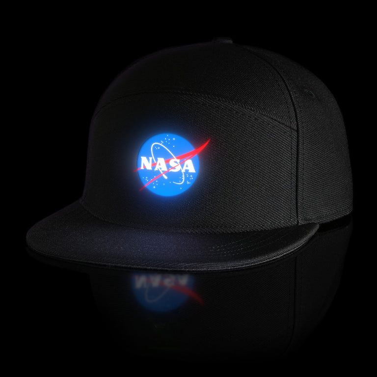 "LUMATIV x NASA ""Meatball"" Light Up Snapback Hat"