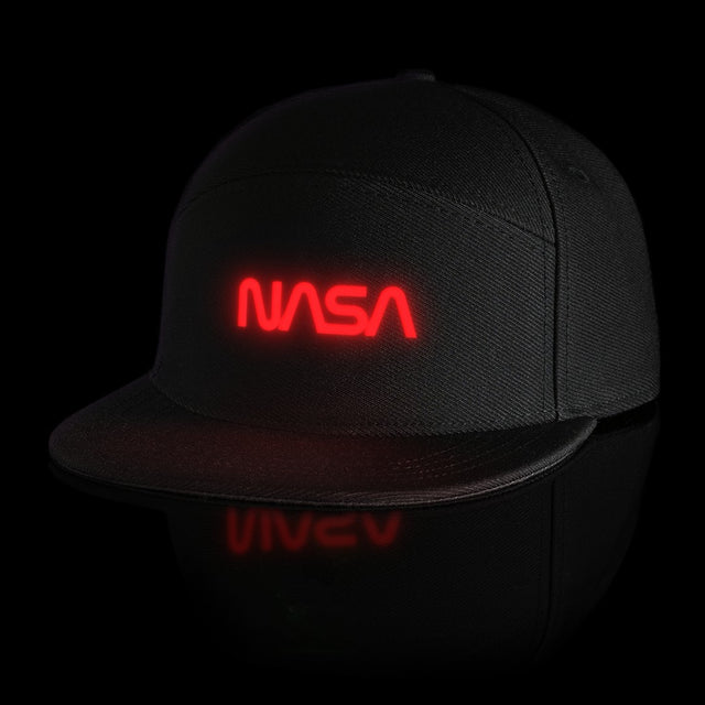 "LUMATIV x NASA ""Worm"" Light Up Snapback Hat"