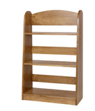 Three-Shelf Wooden Bookshelf