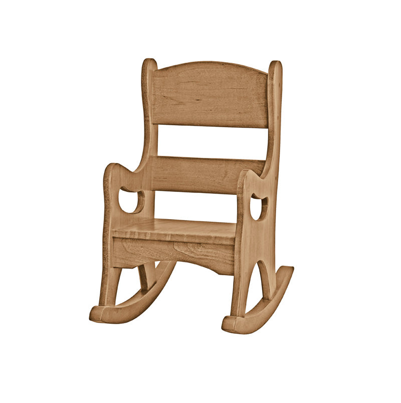 Child's Maple Wood Rocking Chair
