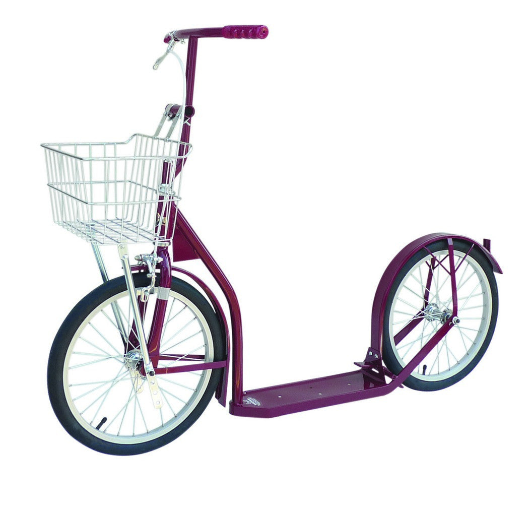 "Amish-Made Deluxe Youth Kick Scooter Bike - 16"" Wheel"