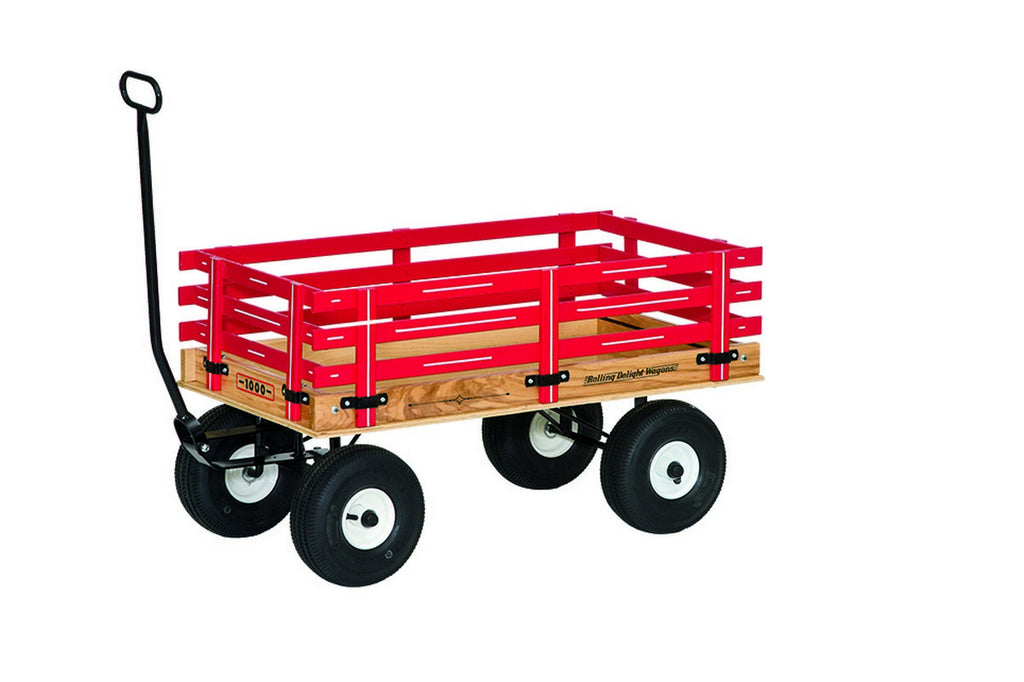 Amish-Made Rolling Delight Heavy-Duty Express Wagons