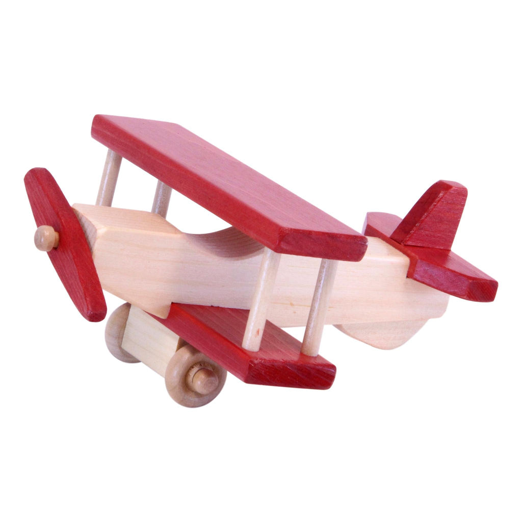 Wooden Airplane Toy, Amish-Made
