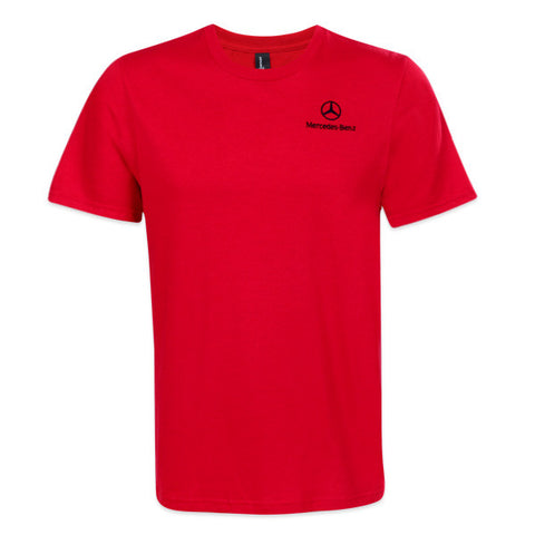 M-B Men's Red Classic VIP T-shirt (1004)