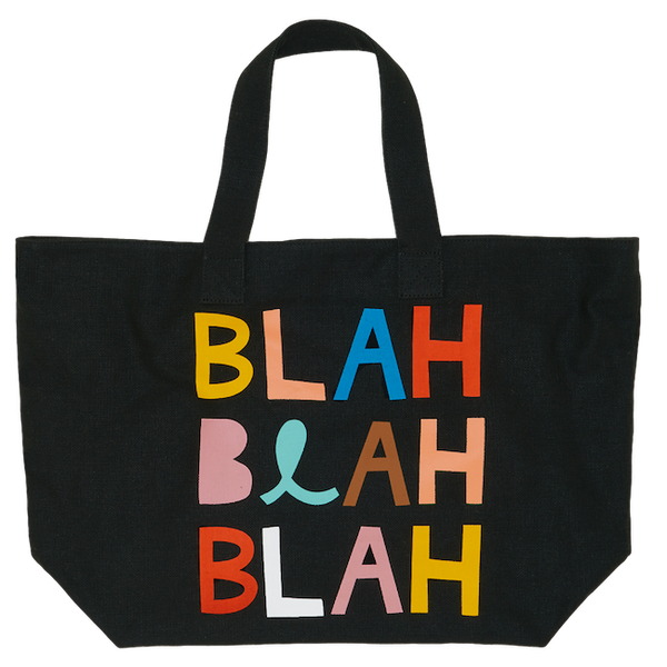 Castle Tote Bag - Blah Blah Blah