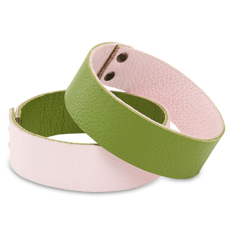 Bëuy Minimalist Leather Bangle Medium