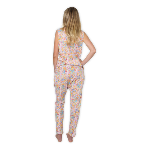 Kip & Co Drop Crutch Pants - Little Flowers