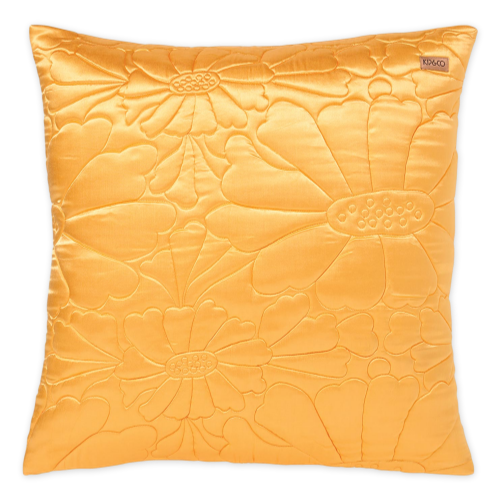 Kip & Co Satin Quilted Euro - Mango
