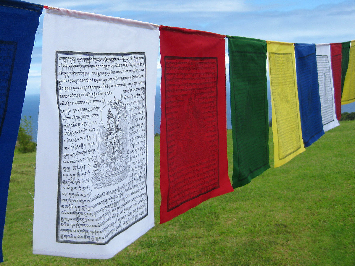 Tibetan Prayer Flags High Quality Cotton And Polyester Flags